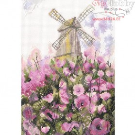 RTO Old mill - Counted Cross Stitch Kit, Art: M551