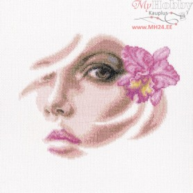 RTO Tropical orchidee - Counted Cross Stitch Kit, Art: M566