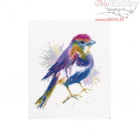 RTO Blue feather - Counted Cross Stitch Kit, Art: M571