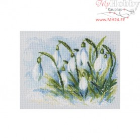 RTO Early snowdrops - Counted Cross Stitch Kit, Art: M585