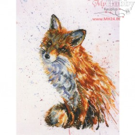 RTO Foxy - Counted Cross Stitch Kit, Art: M70019