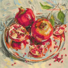 RTO Crowned Fruits - Counted Cross Stitch Kit, Art: M598