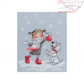 RTO In a waltz of snowflakes - Counted Cross Stitch Kit, Art: M652