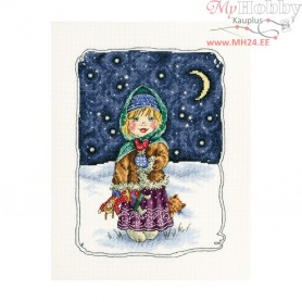 RTO Christmas eve songs - Counted Cross Stitch Kit, Art: M630