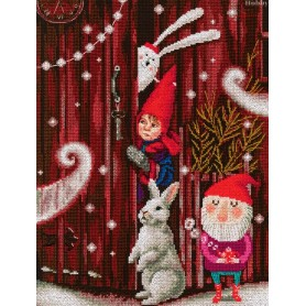 RTO Waiting for a fairy tale - Counted Cross Stitch Kit, Art: M657