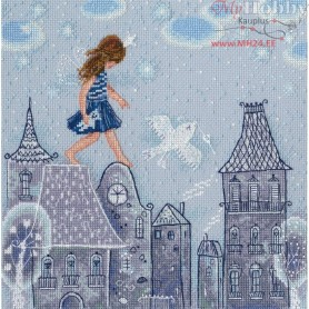 RTO Fairy tales live on the roofs - Counted Cross Stitch Kit, Art: M662