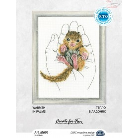 RTO Warmth in palms - Counted Cross Stitch Kit, Art: M696