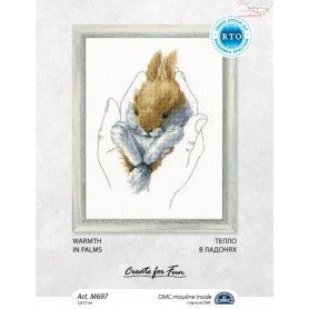 RTO Warmth in palms - Counted Cross Stitch Kit, Art: M697