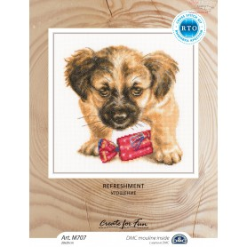 RTO Refreshment - Counted Cross Stitch Kit, Art: M707