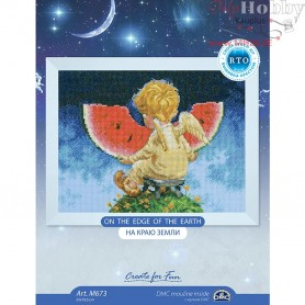 RTO On the edge of the earth - Counted Cross Stitch Kit, Art: M673