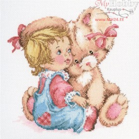 RTO Tender bunny - Counted Cross Stitch Kit, Art: M663
