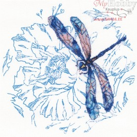 RTO Dance of dragonflies - Counted Cross Stitch Kit, Art: M70023