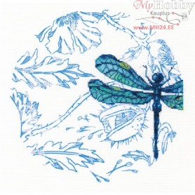 RTO Dance of dragonflies - Counted Cross Stitch Kit, Art: M70024