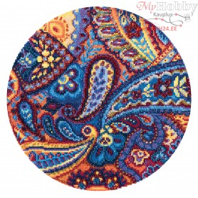 RTO Paisley ornament - Counted Cross Stitch Kit, Art: M680