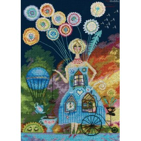 RTO Dandelion - Counted Cross Stitch Kit, Art: M699