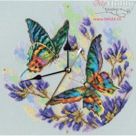 RTO Rainbow butterflies - Counted Cross Stitch Kit, Art: M40014