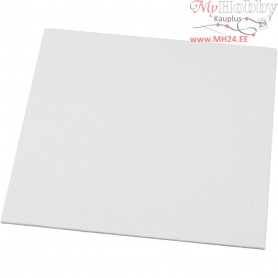 Canvas Panel, size 20x20 cm, thickness 3 mm, 280 g, 10pcs