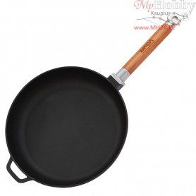 Cast iron frying pan with removable handle (Ø 28 cm depth 4.5 cm)