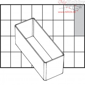 Insert Box, size 109x39 mm, H: 47 mm, Type A9-2, 1pc