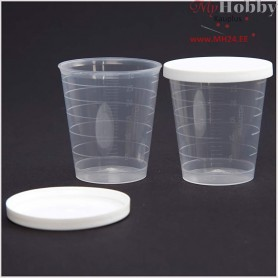 Pot with lid,  30 ml, 75pcs