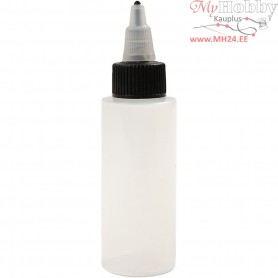 Refillable Bottle with Tip Lid,  60 ml, 20pcs