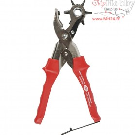 Revolving Punch Pliers, D: 2-4.5 mm, 1pc