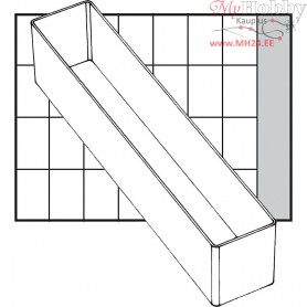 Insert Box, size 218x39 mm, H: 47 mm, Type A9-4, 1pc