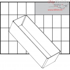 Insert Box, size 157x55 mm, H: 47 mm, Type A8-2, 1pc