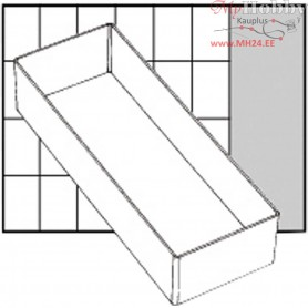 Insert Box, size 218x79 mm, H: 47 mm, Type A7-2, 1pc