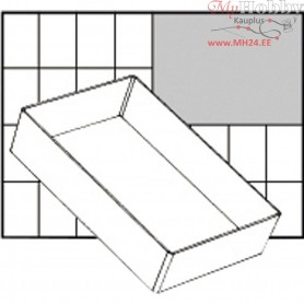Insert Box, size 157x109 mm, H: 47 mm, Type A6-1, 1pc