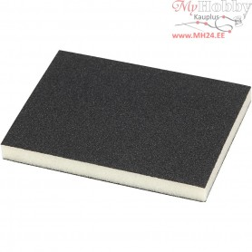 Sanding Sponge, size 9.5x12 cm, thickness 12 mm, 120 Grit, 4pcs