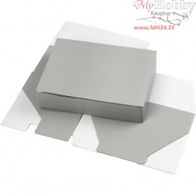 Cardboard Box, LxWxH 15.5x5x22 cm, light grey, 1pc
