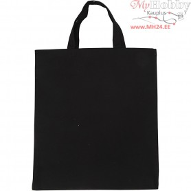 Shopping Bag, size 38x42 cm,  135 g, black, 1pc