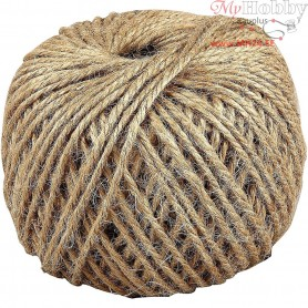 Natural Twine, thickness 3 mm, 100m