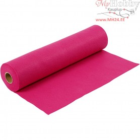 Craft Felt, W: 45 cm, thickness 1,5 mm, cerise, 5m, 180-200 g/m2