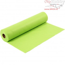 Craft Felt, W: 45 cm, thickness 1,5 mm, light green, 5m, 180-200 g/m2