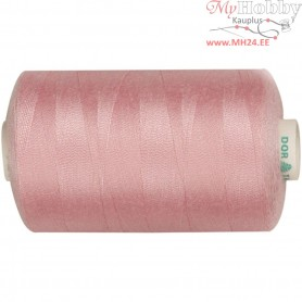 Sewing Thread, light pink, polyester, 1000m