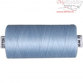 Sewing Thread, light blue, cotton, 1000m