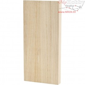 Icon Plate, size 20,6x9,6 cm, thickness 20 mm, empress wood, 1pc