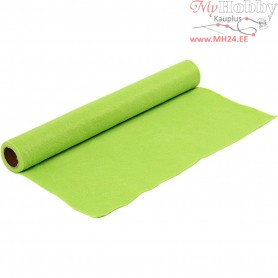 Craft Felt, W: 45 cm, thickness 1,5 mm, light green, 1m, 180-200 g/m2