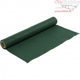Craft Felt, W: 45 cm, thickness 1,5 mm, dark green, 1m, 180-200 g/m2