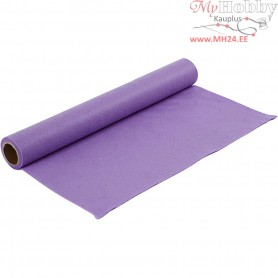 Craft Felt, W: 45 cm, thickness 1,5 mm, light purple, 1m, 180-200 g/m2