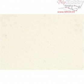 Craft Felt, sheet 42x60 cm, thickness 3 mm, off-white, 1sheet
