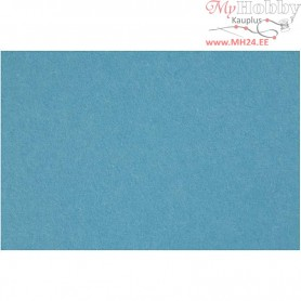Craft Felt, sheet 42x60 cm, thickness 3 mm, turquoise, 1sheet