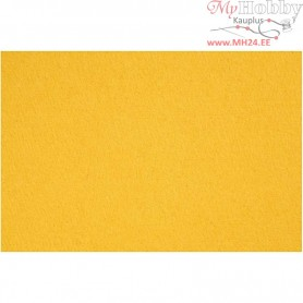 Craft Felt, sheet 42x60 cm, thickness 3 mm, yellow, 1sheet