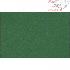Craft Felt, sheet 42x60 cm, thickness 3 mm, dark green, 1sheet