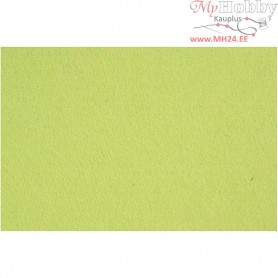 Craft Felt, sheet 42x60 cm, thickness 3 mm, lime green, 1sheet