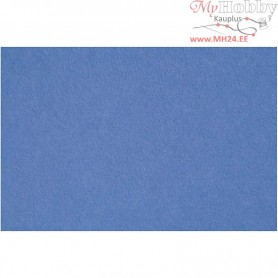 Craft Felt, sheet 42x60 cm, thickness 3 mm, blue, 1sheet