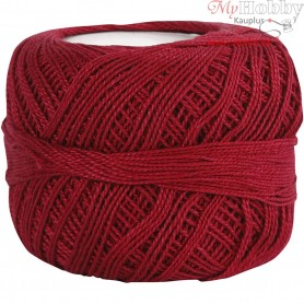 Mercerized Cotton Yarn, antique red, 20g