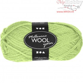 Melbourne Yarn, L: 92 m, neon green, 50g